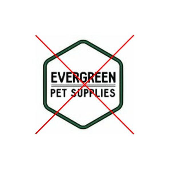 Trademark not affiliated, connected or associated with Evergreen Pet Supplies Ltd